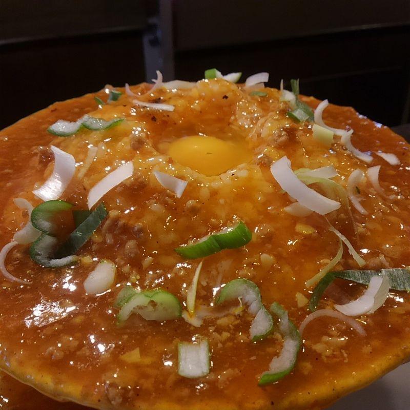 俵飯ランチの定番・ジャージャー飯の作り方(^o^)
